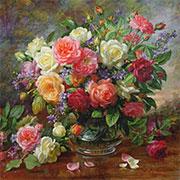Подобрать картины с цветами для интерьера