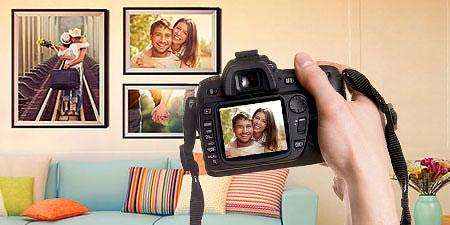 Загружайте свои фотографии и творите!
