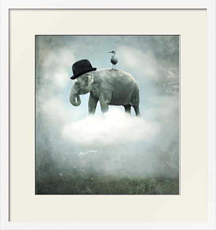 картинка небылица слон на облаке