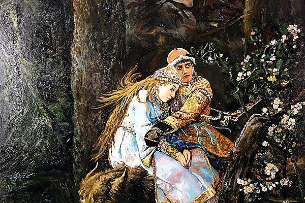 Иван царевич и серый волк картинки к сказке васнецова