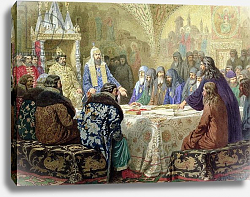Постер Кившенко Алексей Council in 1634: The Beginning of Church Dissidence in Russia, 1880
