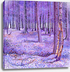 Постер Ньютон Давид (совр) Purple Forest 2, 2012,