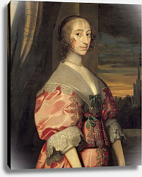 Постер Дик Энтони Lady Hoghton, wife of the lst Baronet, 17th century