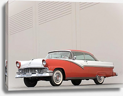 Постер Ford Fairlane 2-Door Victoria Hardtop '1956