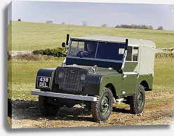 Постер Land Rover Series I 80 Soft Top '1948–58