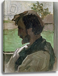 Постер Базиль Жан Self Portrait at Saint-Saveur, 1868