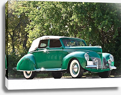 Постер Lincoln Zephyr Convertible Sedan '1939