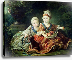 Постер Друаис Франсис Future Kings Louis XVI and Louis XVIII of France, 1757