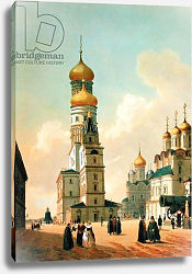 Постер Беност Феликс Ivan the Great Bell Tower in the Moscow Kremlin, printed by Lemercier, Paris, 1840s
