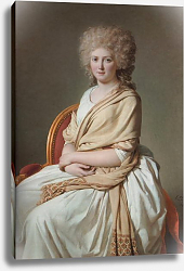 Постер Давид Жак Луи Portrait of Anne-Marie-Louise Thelusson