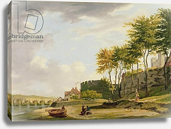 Постер Уитли Франсис The Medway at Rochester, 1776