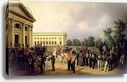 Постер Крюгер Франц The Russian Guard in Tsarskoye Selo in 1832, 1841