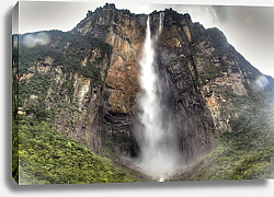 Постер Венесуэла. Angel's Falls at the national park of Canaima