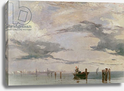 Постер Бонингтон Ричард View of the Lagoon near Venice, 1826