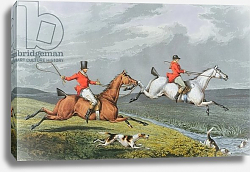 Постер Бентли Чарльз Fox Hunting: Full Cry, 1828