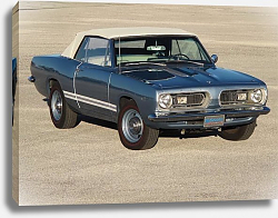 Постер Plymouth Barracuda Convertible '1967