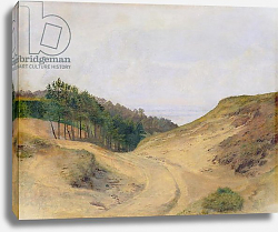 Постер Дженслер Якоб The Narrow Pass at Blankenese, 1840