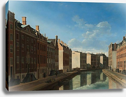 Постер Беркхейде Геррит The Bend in the Herengracht