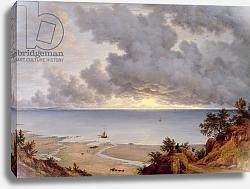 Постер Гловер Джон View from Shanklin, Isle of Wight, c.1827