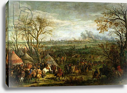 Постер Мюлен Адам The Taking of Cambrai in 1677 by Louis XIV, late 17th century