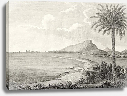 Постер Trapani, Italy. The original engraving, created by Nicolovius, dated to the end of 18th c.