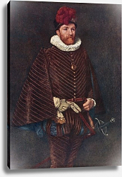 Постер Линтон Джеймс Mary's Half-Brother, Lord James Stuart, more widely known as Earl Murray