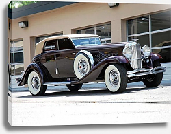 Постер Duesenberg JN 570 Convertible Sedan by Rollston '1934