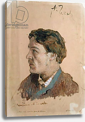 Постер Левитан Исаак Portrait of Anton Chekhov