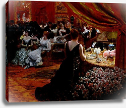 Постер Ниттис Джузеппе The Salon of Princess Mathilde 1883