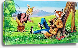 Постер Фокс Анри (детс) Brer Rabbit and Brer Fox
