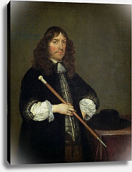 Постер Терборх Герард Portrait of the Mayor of Amsterdam Nicolaes Pancras, 1670