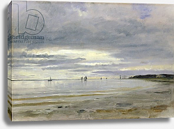 Постер Дженслер Якоб The Beach at Blankenese, 8th October 1842