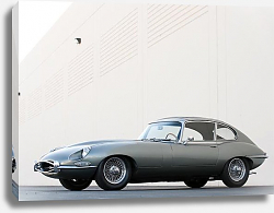 Постер Jaguar E-Type Coupe (Series II) '1968–71