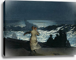 Постер Хомер Уинслоу Summer Night, 1890