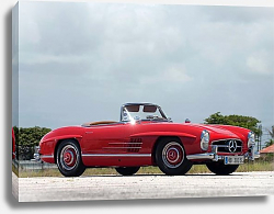 Постер Mercedes-Benz 300SL US-spec (R198) '1957–63
