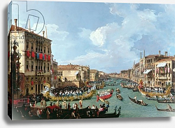 Постер Каналетто (Giovanni Antonio Canal) Regatta on the Grand Canal