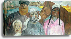 Постер Григорьев Борис The Peasant Family, 1923
