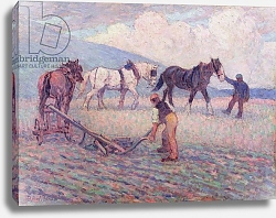 Постер Бевэн Роберт The Turn-Rice Plough, c.1909