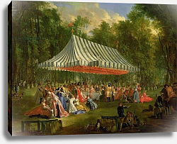 Постер Оливер Майкл Festival Given by the Prince of Conti to the Prince of Brunswick-Lunebourg at l'Isle-Adam, 1766
