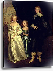 Постер Дик Энтони The Children of Thomas Wentworth, 1st Earl of Strafford, 17th century