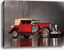 Постер Duesenberg J Convertible Sedan by Murphy '1931