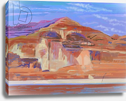 Постер Ганц Ховард (совр) Painted Cliffs, Lake Powell