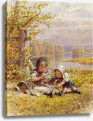 Постер Коулмен Уильям A Posy for Mother, 1867