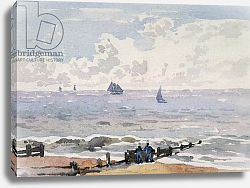 Постер Чурчар Томас Seascape from the Beach, Aldeburgh
