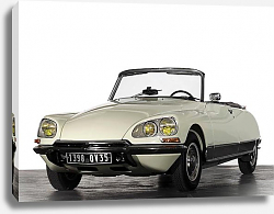 Постер Citro?n DS 23 Cabriolet by Chapron '1973