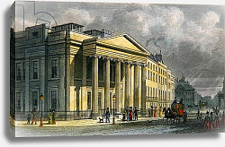 Постер Шепард Томас (последователи) The New College of Physicians, Pall Mall, East, engraved by Thomas Barber