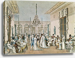 Постер Дебюкур Филибер The Cafe Frascati in 1807