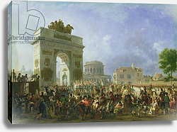 Постер Таунай Николя Entry of the Imperial Guard into Paris at the Barriere de Pantin, 25th November 1807, 1810