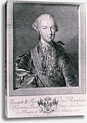 Постер Школа: Австрийская 18в. Portrait of Joseph II King of Germany and Holy Roman Emperor, 1763