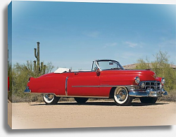 Постер Cadillac Sixty-Two Convertible Coupe '1952